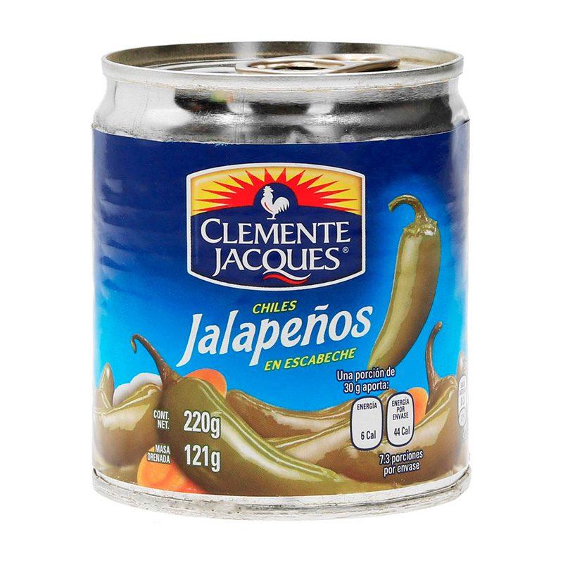 Lata de Chiles Jalapeños en Europa