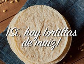 Comprar tortillas de maíz en tienda mexicana María la Bonita